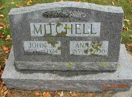 MITCHELL, ANNA E - Kingsbury County, South Dakota | ANNA E MITCHELL - South Dakota Gravestone Photos