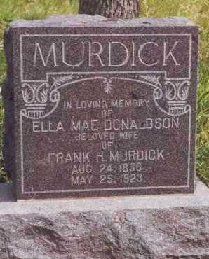 MURDICK, ELLA - Kingsbury County, South Dakota | ELLA MURDICK - South Dakota Gravestone Photos