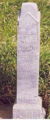 MURDICK, LYLE - Kingsbury County, South Dakota | LYLE MURDICK - South Dakota Gravestone Photos