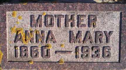 NELSON, ANNA MARY - Kingsbury County, South Dakota   ANNA MARY NELSON - South Dakota Gravestone Photos