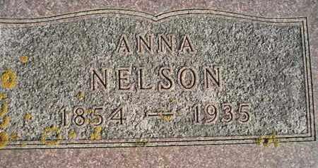 NELSON, ANNA - Kingsbury County, South Dakota   ANNA NELSON - South Dakota Gravestone Photos
