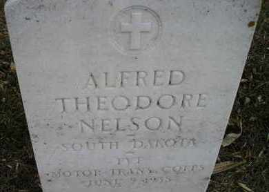 NELSON, ALFRED THEODORE (MIL) - Kingsbury County, South Dakota | ALFRED THEODORE (MIL) NELSON - South Dakota Gravestone Photos