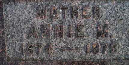 NELSON, ANNIE MARIE - Kingsbury County, South Dakota | ANNIE MARIE NELSON - South Dakota Gravestone Photos