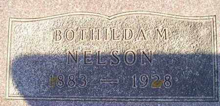 NELSON, BOTHILDA M - Kingsbury County, South Dakota | BOTHILDA M NELSON - South Dakota Gravestone Photos