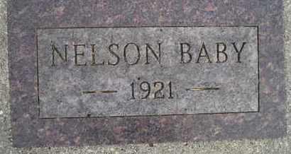 NELSON, BABY - Kingsbury County, South Dakota | BABY NELSON - South Dakota Gravestone Photos
