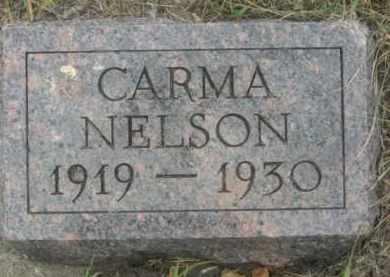 NELSON, CARMA - Kingsbury County, South Dakota | CARMA NELSON - South Dakota Gravestone Photos