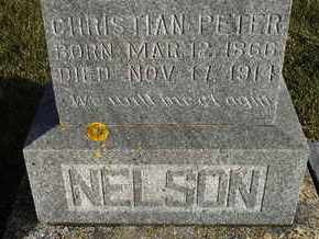 NELSON, CHRISTIAN PETER - Kingsbury County, South Dakota | CHRISTIAN PETER NELSON - South Dakota Gravestone Photos