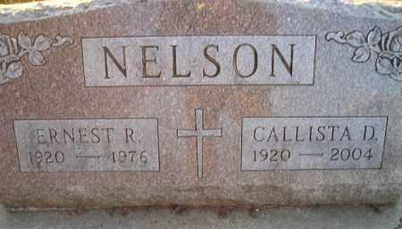 NELSON, CALLISTA D - Kingsbury County, South Dakota | CALLISTA D NELSON - South Dakota Gravestone Photos