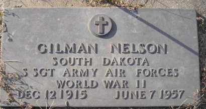 NELSON, GILMAN - Kingsbury County, South Dakota | GILMAN NELSON - South Dakota Gravestone Photos