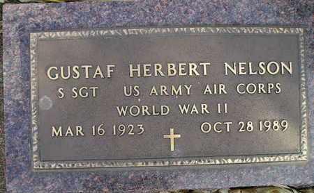 NELSON, GUSTAF HERBERT - Kingsbury County, South Dakota | GUSTAF HERBERT NELSON - South Dakota Gravestone Photos