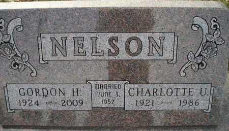 NELSON, CHARLOTTE U - Kingsbury County, South Dakota | CHARLOTTE U NELSON - South Dakota Gravestone Photos