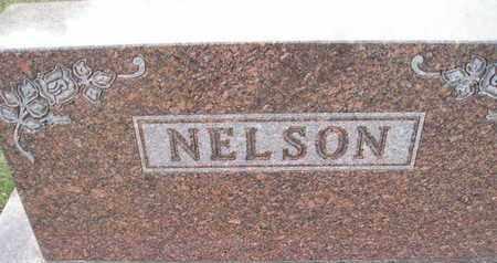 NELSON, HEADSTONE - Kingsbury County, South Dakota | HEADSTONE NELSON - South Dakota Gravestone Photos