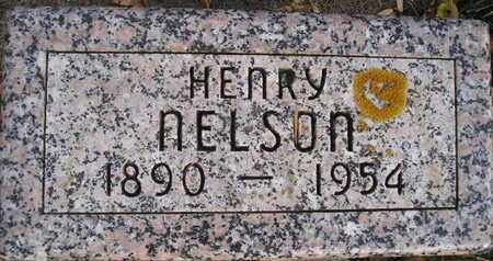NELSON, HENRY - Kingsbury County, South Dakota   HENRY NELSON - South Dakota Gravestone Photos