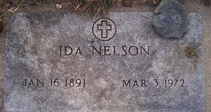 NELSON, IDA - Kingsbury County, South Dakota | IDA NELSON - South Dakota Gravestone Photos