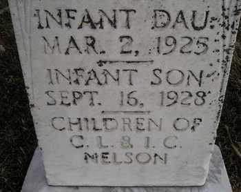 NELSON, INFANT BOY - Kingsbury County, South Dakota | INFANT BOY NELSON - South Dakota Gravestone Photos