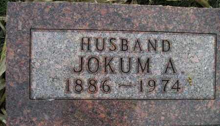 NELSON, JOKUM A - Kingsbury County, South Dakota | JOKUM A NELSON - South Dakota Gravestone Photos
