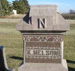 NELSON, K - Kingsbury County, South Dakota | K NELSON - South Dakota Gravestone Photos