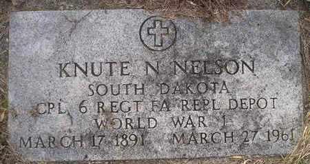 NELSON, KNUTE N - Kingsbury County, South Dakota | KNUTE N NELSON - South Dakota Gravestone Photos