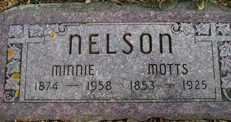 NELSON, MINNIE - Kingsbury County, South Dakota   MINNIE NELSON - South Dakota Gravestone Photos