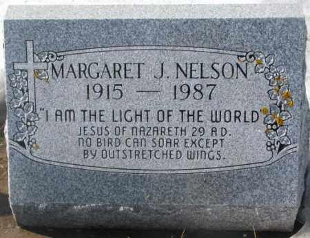 NELSON, MARGARET J. - Kingsbury County, South Dakota | MARGARET J. NELSON - South Dakota Gravestone Photos
