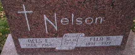 NELSON, NELS E - Kingsbury County, South Dakota | NELS E NELSON - South Dakota Gravestone Photos