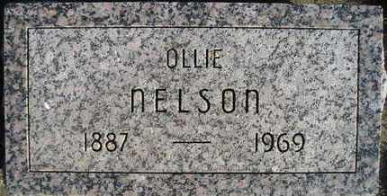 NELSON, OLLIE - Kingsbury County, South Dakota | OLLIE NELSON - South Dakota Gravestone Photos