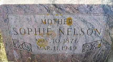 NELSON, SOPHIE - Kingsbury County, South Dakota   SOPHIE NELSON - South Dakota Gravestone Photos