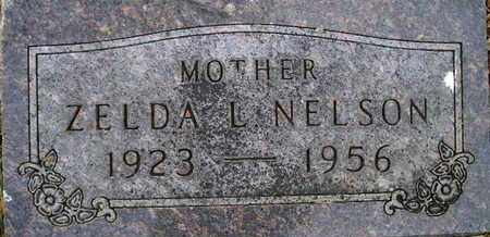 NELSON, ZELDA L - Kingsbury County, South Dakota | ZELDA L NELSON - South Dakota Gravestone Photos