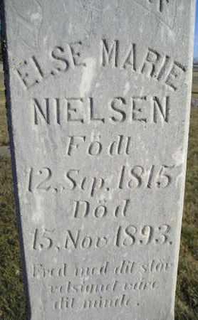 NIELSEN, ELSE MARIE - Kingsbury County, South Dakota | ELSE MARIE NIELSEN - South Dakota Gravestone Photos