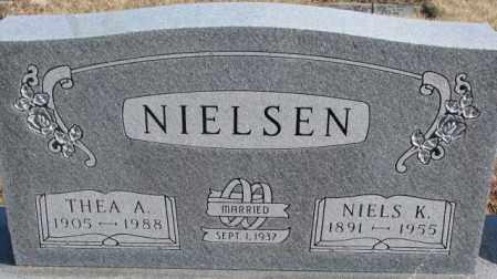 NIELSEN, THEA A. - Kingsbury County, South Dakota | THEA A. NIELSEN - South Dakota Gravestone Photos