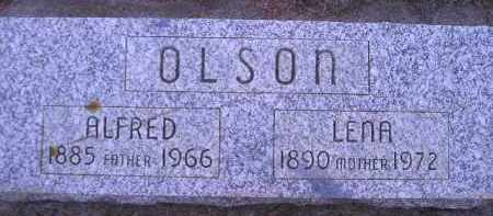 OLSON, LENA - Kingsbury County, South Dakota | LENA OLSON - South Dakota Gravestone Photos