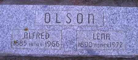 OLSON, ALFRED - Kingsbury County, South Dakota | ALFRED OLSON - South Dakota Gravestone Photos