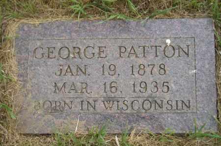 PATTON, GEORGE - Kingsbury County, South Dakota | GEORGE PATTON - South Dakota Gravestone Photos