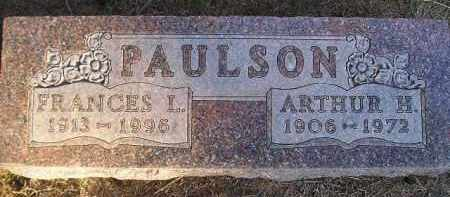PAULSON, FRANCES L - Kingsbury County, South Dakota | FRANCES L PAULSON - South Dakota Gravestone Photos