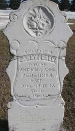 PEDERSON, JENNY PEDRE? - Kingsbury County, South Dakota | JENNY PEDRE? PEDERSON - South Dakota Gravestone Photos