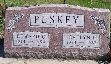 PESKEY, EVELYN I - Kingsbury County, South Dakota   EVELYN I PESKEY - South Dakota Gravestone Photos