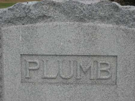 PLUMB, FAMILY STONE - Kingsbury County, South Dakota | FAMILY STONE PLUMB - South Dakota Gravestone Photos