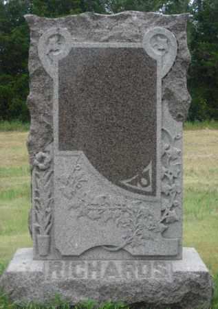 RICHARDS, FAMILY STONE - Kingsbury County, South Dakota   FAMILY STONE RICHARDS - South Dakota Gravestone Photos