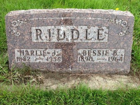 RIDDLE, HARLEY J - Kingsbury County, South Dakota | HARLEY J RIDDLE - South Dakota Gravestone Photos