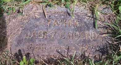 ROUNDS, JABEZ C - Kingsbury County, South Dakota | JABEZ C ROUNDS - South Dakota Gravestone Photos