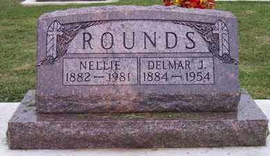 ROUNDS, DELMAR JEROME - Kingsbury County, South Dakota | DELMAR JEROME ROUNDS - South Dakota Gravestone Photos