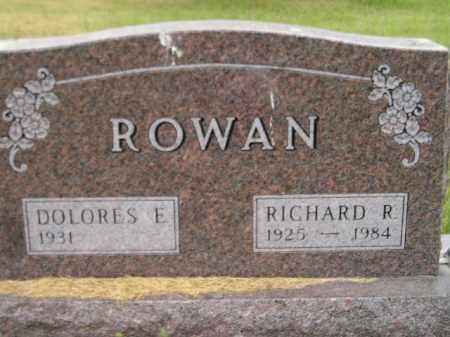 ROWAN, RICHARD R. - Kingsbury County, South Dakota | RICHARD R. ROWAN - South Dakota Gravestone Photos