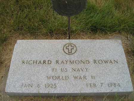 ROWAN, RICHARD RAYMOND - Kingsbury County, South Dakota | RICHARD RAYMOND ROWAN - South Dakota Gravestone Photos
