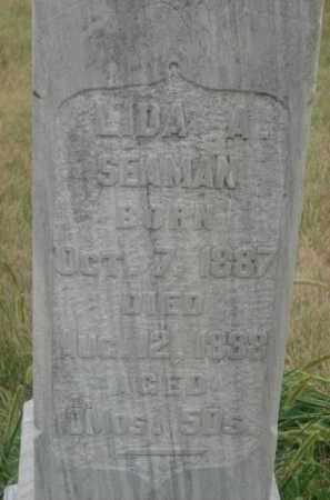 SEAMAN, LIDA A. - Kingsbury County, South Dakota | LIDA A. SEAMAN - South Dakota Gravestone Photos