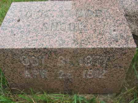 SNOOK, LOUIS EDWARD - Kingsbury County, South Dakota   LOUIS EDWARD SNOOK - South Dakota Gravestone Photos