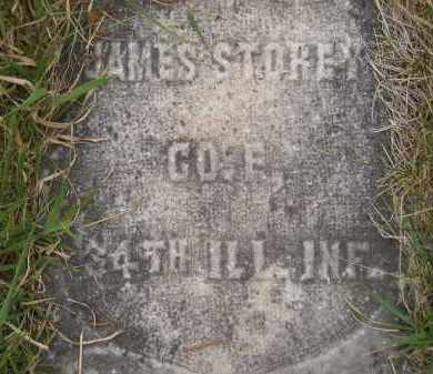 STOREY, JAMES - Kingsbury County, South Dakota | JAMES STOREY - South Dakota Gravestone Photos