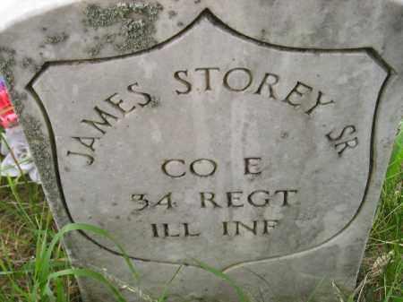 STOREY, JAMES SR. - Kingsbury County, South Dakota | JAMES SR. STOREY - South Dakota Gravestone Photos