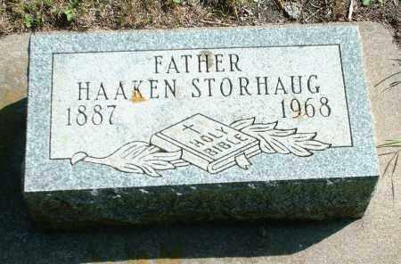 STORHAUG, HAAKEN - Kingsbury County, South Dakota | HAAKEN STORHAUG - South Dakota Gravestone Photos