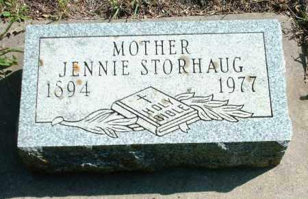 STORHAUG, JENNIE LOUISE - Kingsbury County, South Dakota | JENNIE LOUISE STORHAUG - South Dakota Gravestone Photos