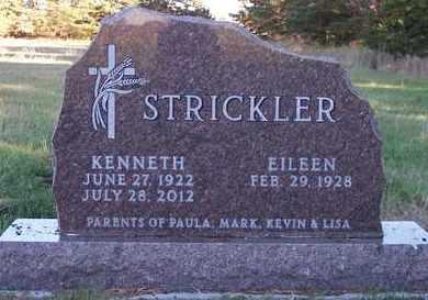 STRICKLER, KENNETH - Kingsbury County, South Dakota | KENNETH STRICKLER - South Dakota Gravestone Photos